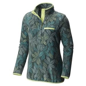 Columbia Fleece Pullover Women's S Pond Floral